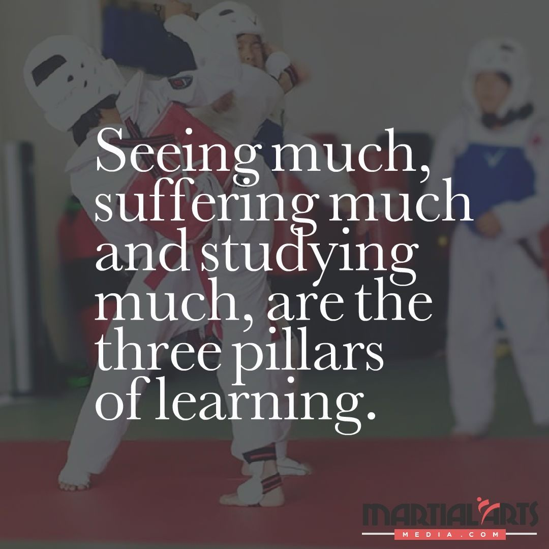 Taekwondo Quotes Inspiration Top 50 Inspirational Quotes From Martial Arts Schools And Martial